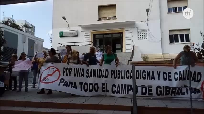 Protesta por la escasez de pediatras en Algeciras