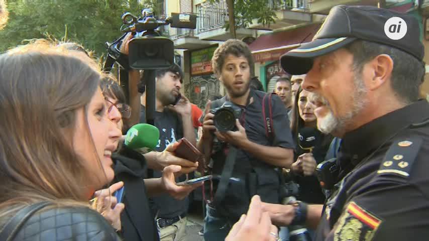 Suspendido de manera indefinida el desahucio de una familia en Madrid