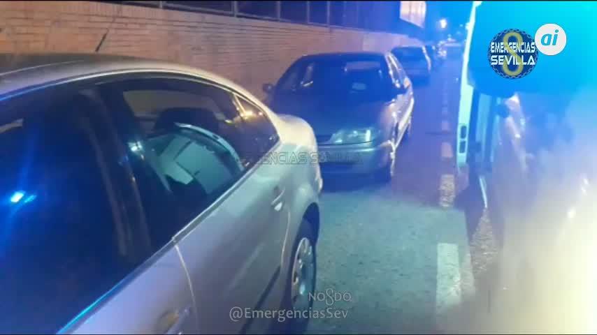 Colisiona con seis coches aparcados cuadriplicando la tasa de alcohol