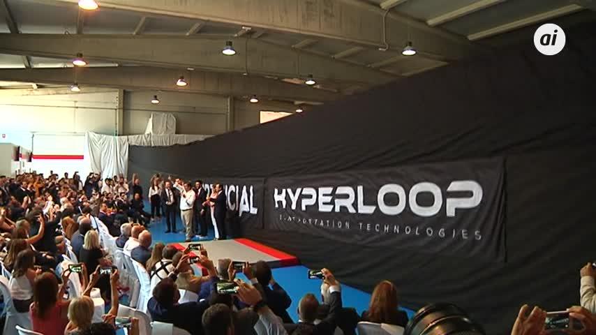 El Hyperloop, de Cádiz al mundo a una velocidad supersónica