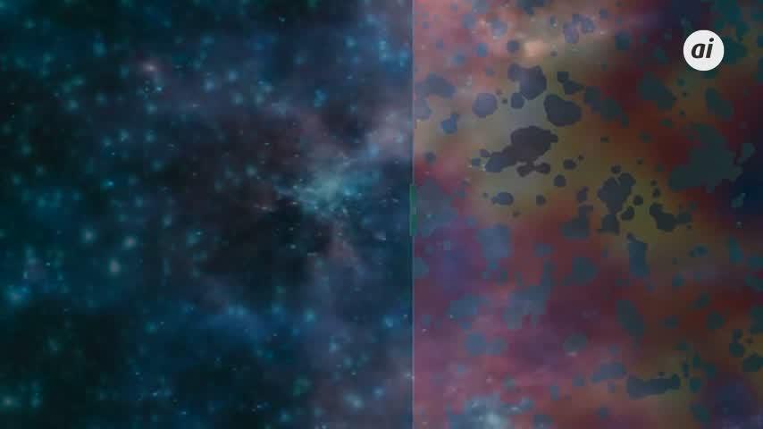 La materia oscura no está hecha desde los agujeros negros