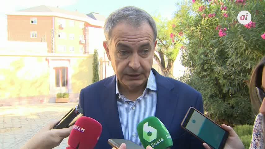 """Zapatero a los independentistas: """"Saben adónde no pueden volver a ir"""""""