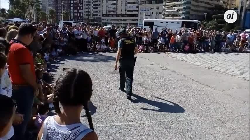 La Guardia Civil celebra su exhibición de medios en Algeciras