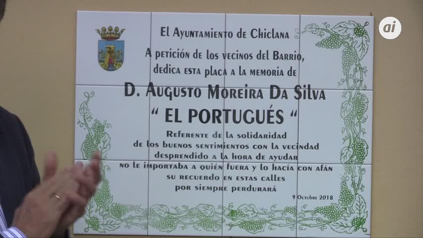 'El Portugués' recibe el emotivo homenaje de su barrio en Panzacola