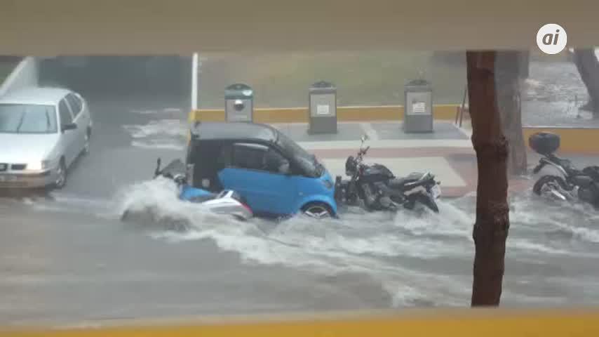Una docena de avisos por inundaciones en San Pedro