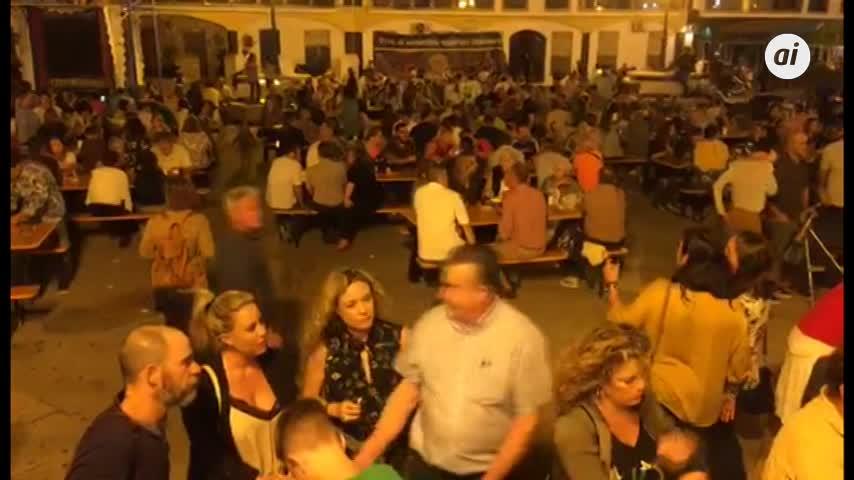 Éxito total la II Feria de la Cerveza de Rota