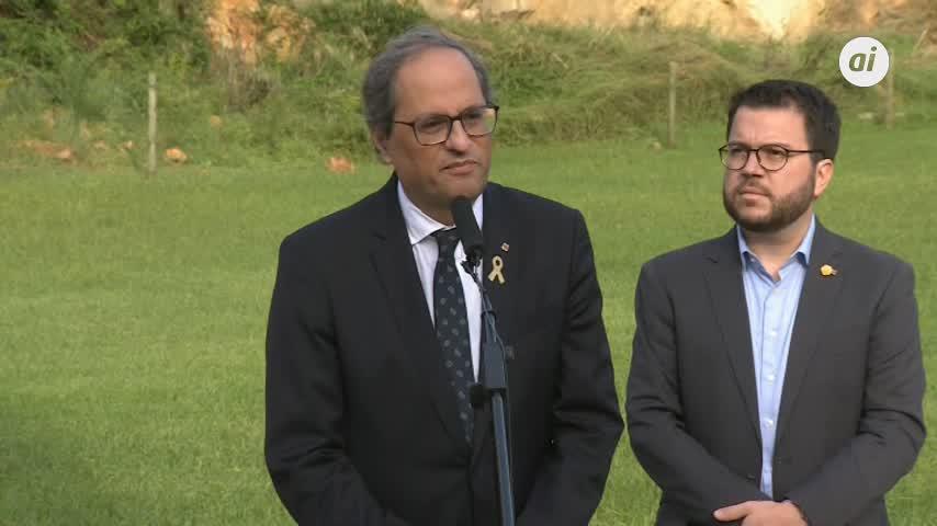 Torra pide al Gobierno anular los juicios del franquismo