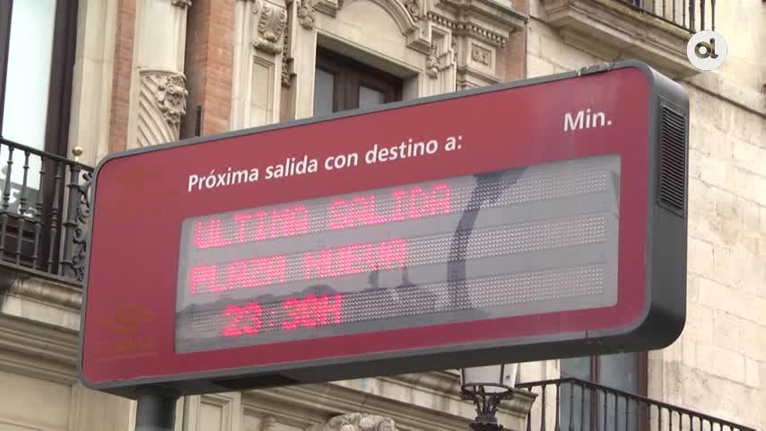 El Metrocentro pierde 128.000 viajeros en estos nueve meses