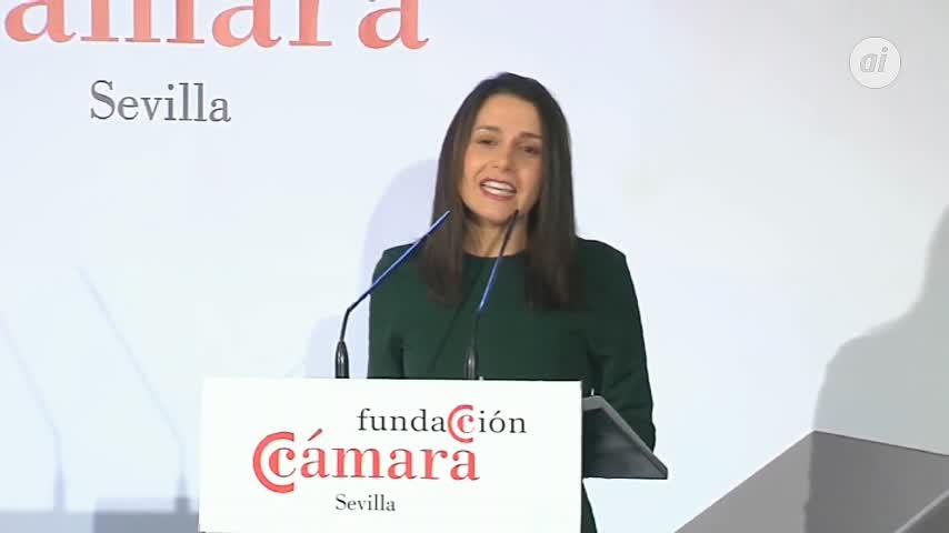 Arrimadas, convencida de que Andalucía está ante oportunidad histórica