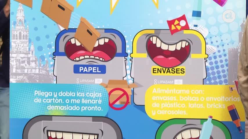 """Reciclar en Sevilla ya tiene su """"ecopunto"""""""