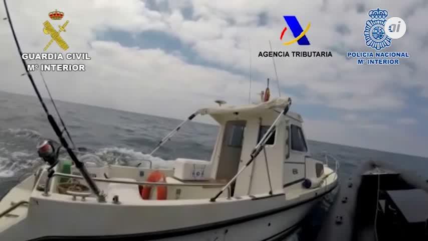 Cae una red de tráfico de hachís con contactos en Algeciras