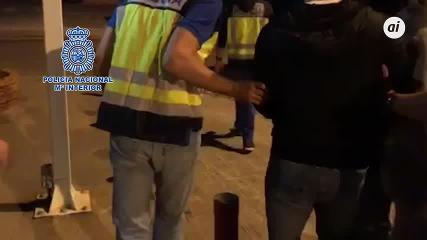 'El Castañita' pacta su detención en playa de la Atunara de La Línea