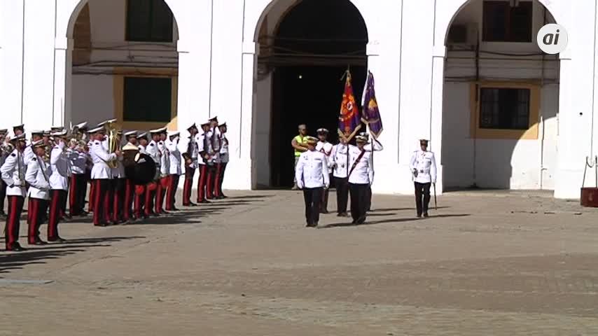 Despedida a la Fuerza Expedicionaria de Infantería de Marina a Mali