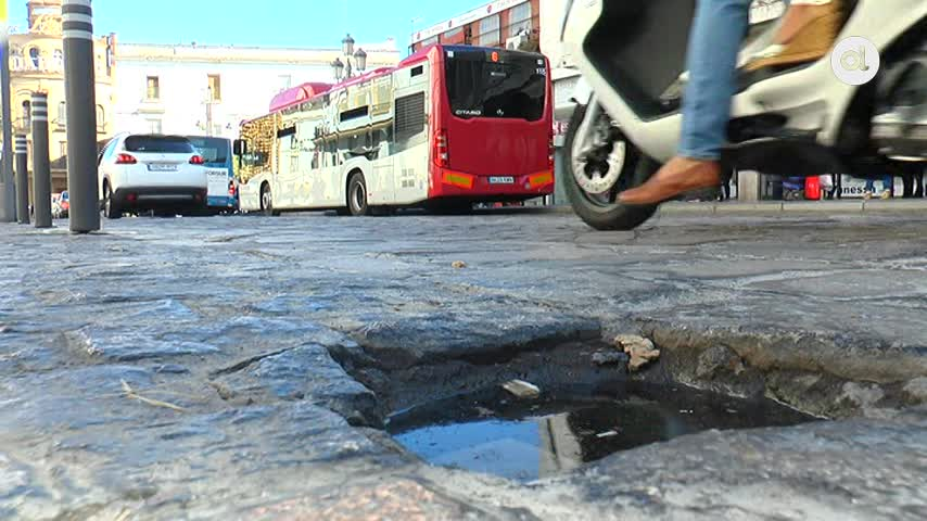 Corredera, Esteve, Santa María y Cerrón se asfaltarán en su totalidad