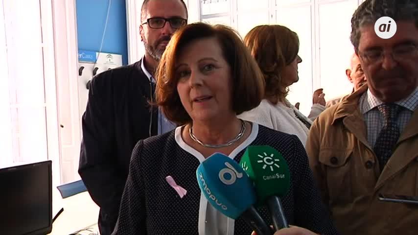 Sánchez Rubio visita las instalaciones del centro 'Caleta' en Cádiz