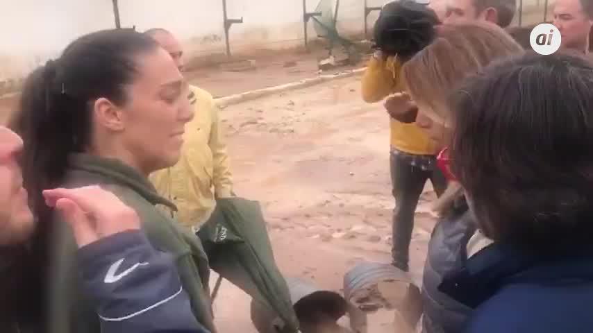 """Susana Díaz pide en Antequera """"máxima precaución"""" por las lluvias"""