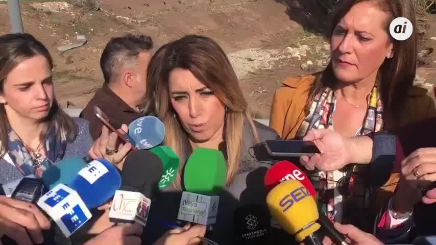 """Díaz dice que """"en cuestión de días"""" se activarán ayudas por lluvias"""