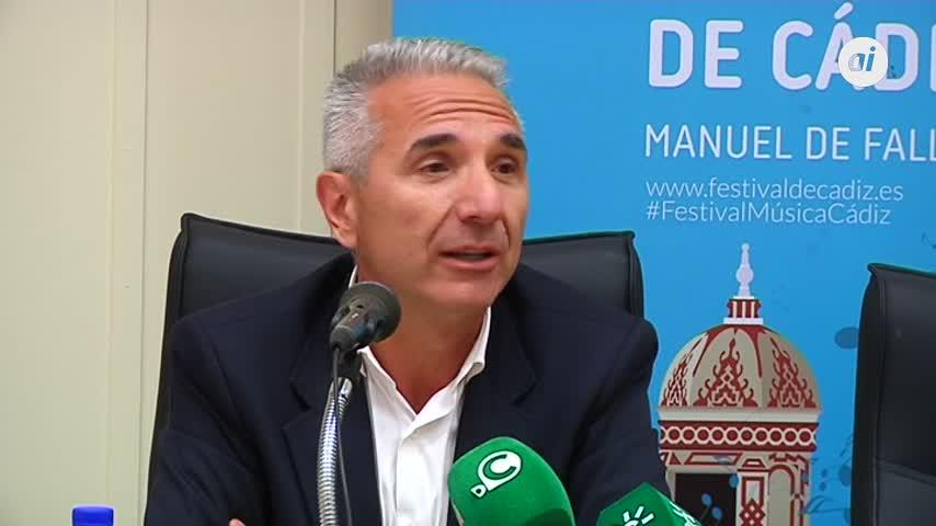Miguel Ángel Vázquez, contento de ir en la lista del PSOE en Cádiz