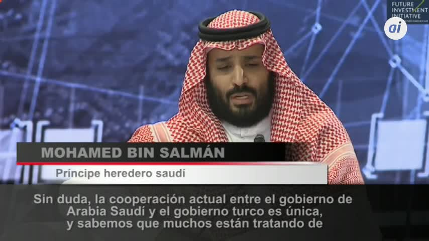 """Bin Salman: el """"incidente odioso"""" de Khashoggi no quedará impune"""