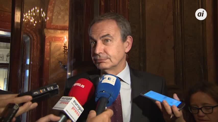 Zapatero arremete contra Casado por decir que Sánchez es un golpista