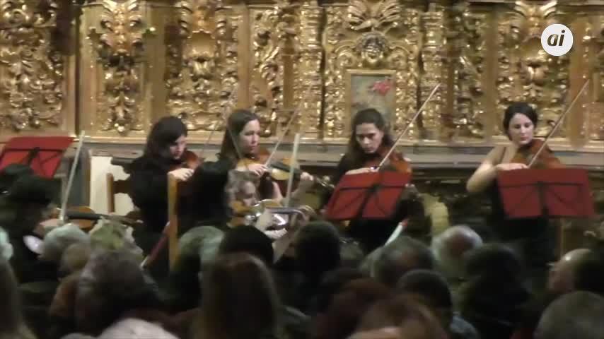 La orquesta femenina Almaclara llenará de música Santiponce