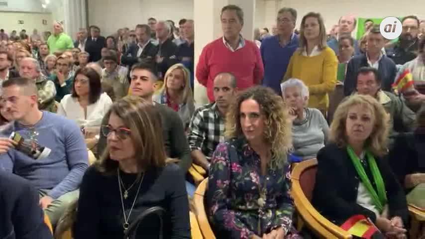 Vox encuentra su 'vistalegre' en Jerez
