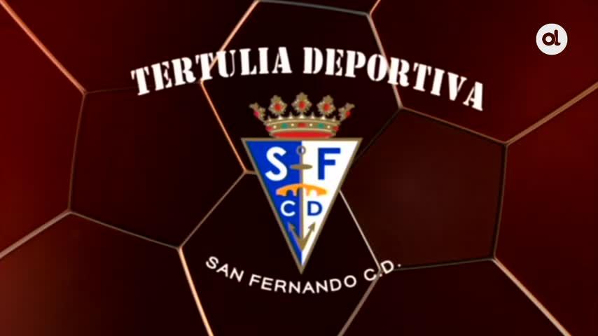 Duelo de laterales en la Tertulia del San Fernando CD