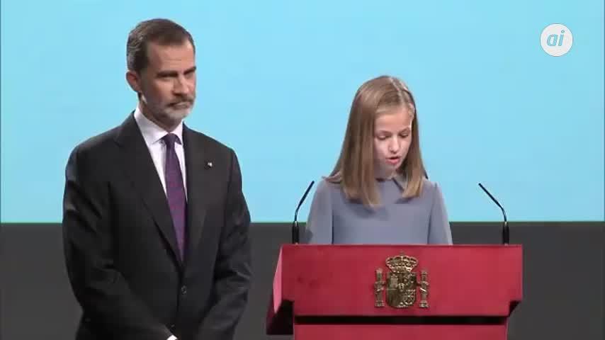 La princesa Leonor: España es una Monarquía parlamentaria