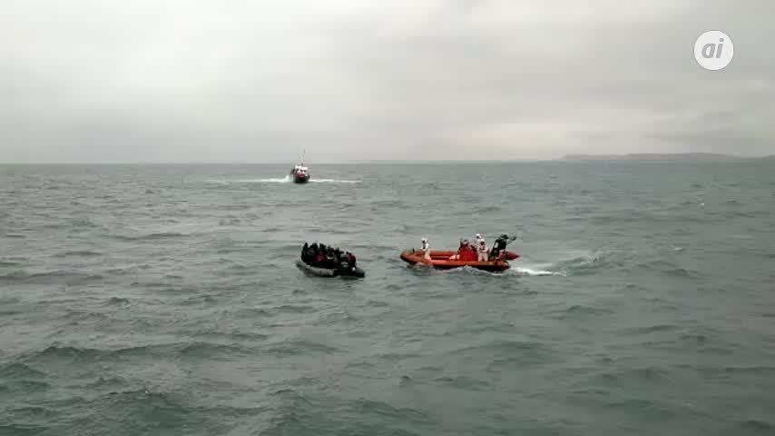 Ascienden a 85 los inmigrantes rescatados hoy el Estrecho