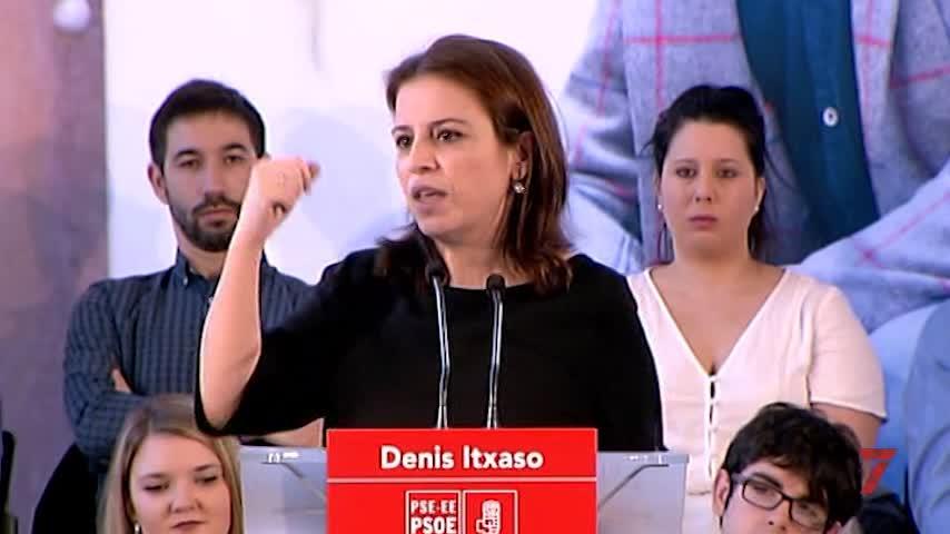 """Lastra (PSOE) asegura que PP y Ciudadanos """"no son constitucionalistas"""""""