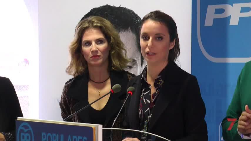 """Andrea Levy ve el 2D como una """"doble oportunidad"""" frente al PSOE"""