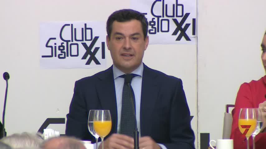 Moreno admite que el voto a Vox puede hacer perder al PP posibilidades