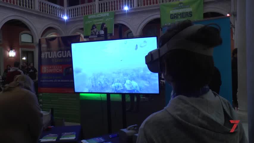 Emasesa sumerge en realidad virtual a los asistentes a Andalucía Game
