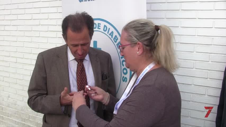 Chiclana no falta a su cita anual con el Día Mundial de la Diabetes