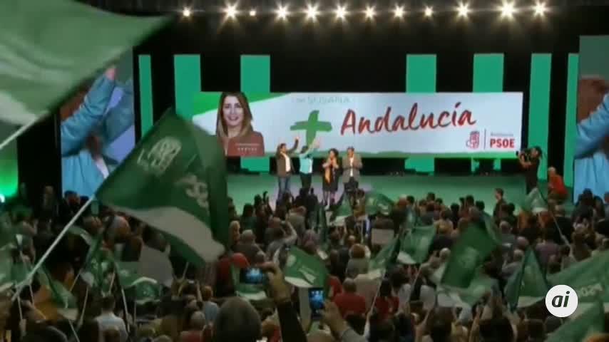 Arranca la campaña electoral para las elecciones andaluzas del 2-D