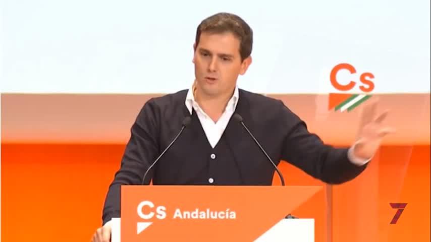 Rivera pide al PP-A su apoyo para hacer a Marín presidente de la Junta