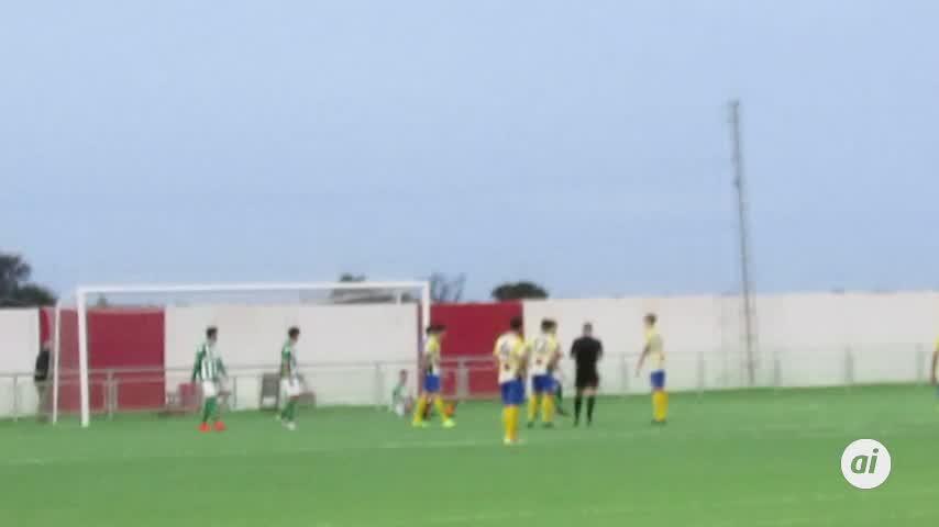 El juvenil A del Atlético Sanluqueño ganó casi al final