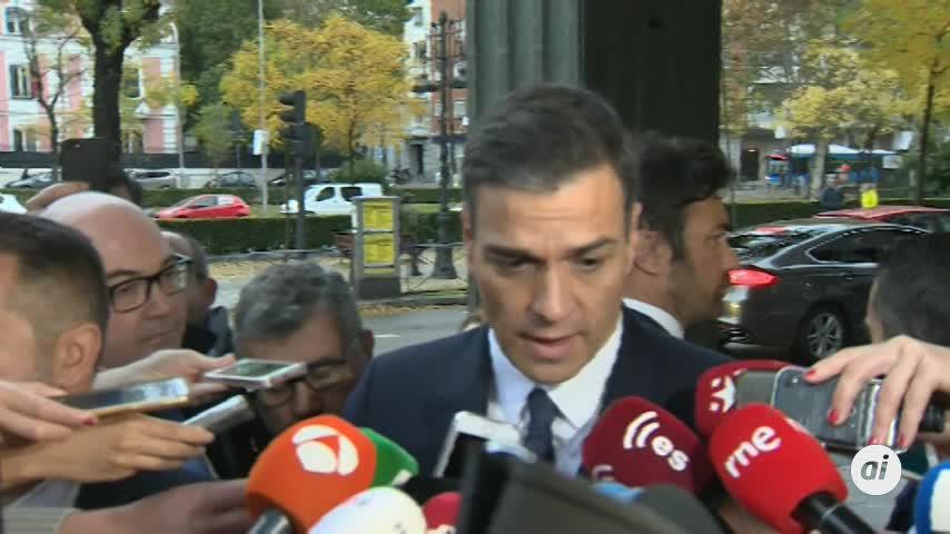 Sánchez lamenta pero comprende la renuncia de Marchena