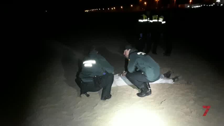 Aparece el cadáver de una mujer subsahariana en la playa de El Palmar