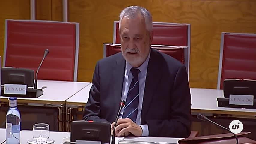 Griñán se niega a declarar en el Senado por los ERE