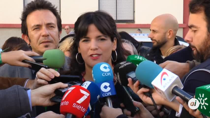 Teresa Rodríguez llama a la participación en esta jornada electoral