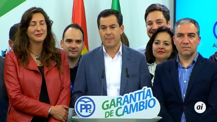 Moreno cree que no es discutible que el PP-A presida