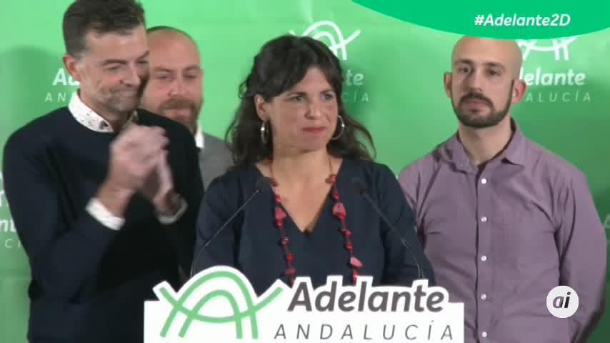 """Teresa Rodríguez: """"Nos toca recuperar el nuevo sentido común"""""""