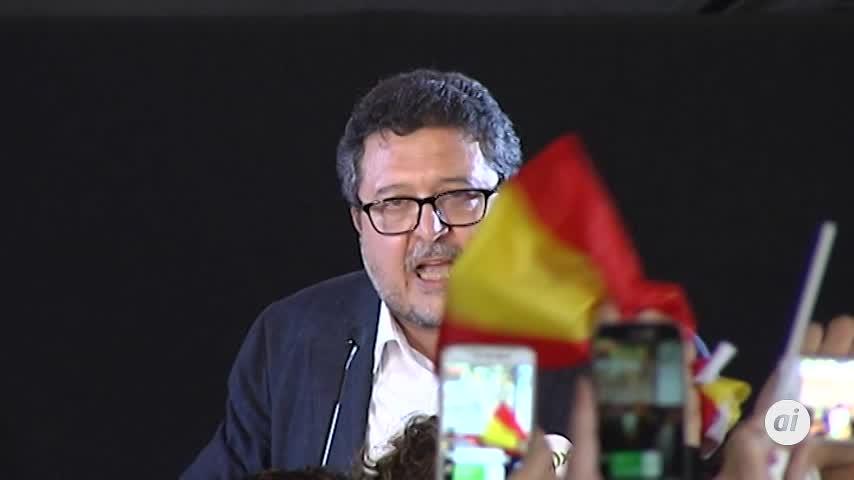 """VOX garantiza que """"nunca será obstáculo"""" para una mayoría alternativa"""