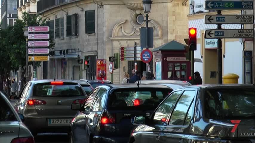 Jerez es el municipio de la provincia con más turismos matriculados