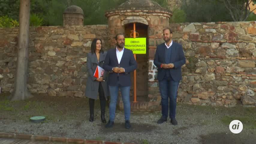 Cs exige medidas urgentes para evitar nuevos derrumbes en Gibralfaro