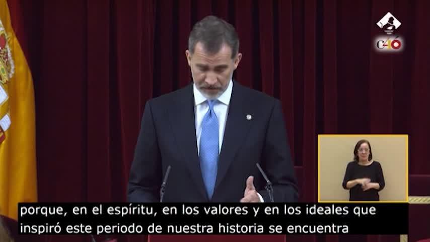 """El rey apuesta por una España diversa """"sentida y compartida por todos"""""""