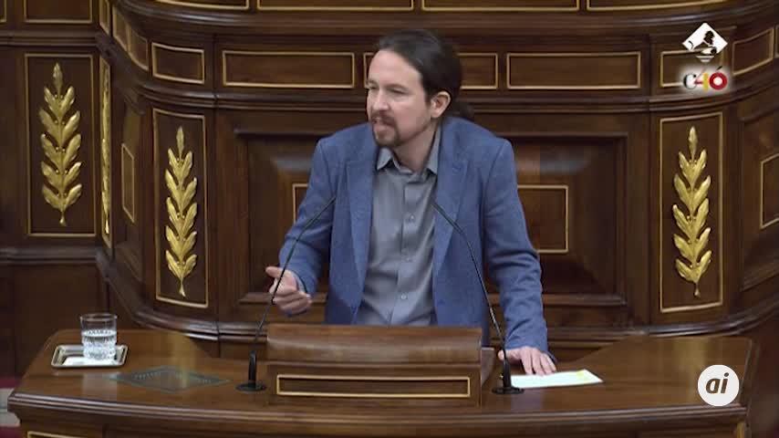 """Iglesias pide a Sánchez que """"respire"""" y """"no incendie Cataluña"""""""