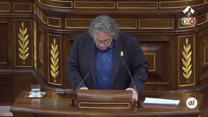 """Tardá: La no negociación con Cataluña """"será su tumba política"""""""