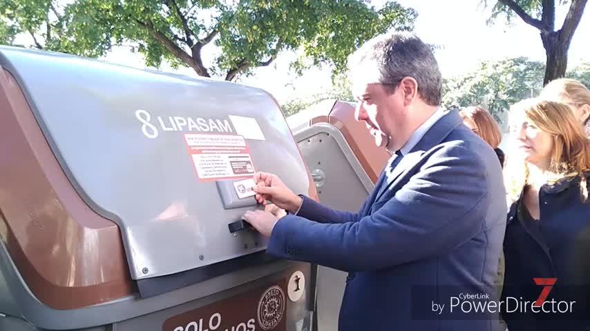 Lipasam fomenta el reciclaje de residuos orgánicos en Sevilla Este